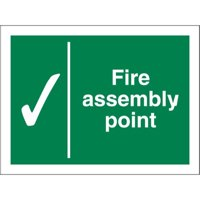 Stewart Superior Fire Assembly Point Sign