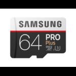 Samsung PRO Plus MB-MD64G 64GB MicroSDXC UHS-I Class 10 memory card