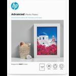 HP Advanced Fotopapier, glänzend - 25 Blatt/13 x 18 cm, randlos