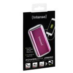 Intenso A5200 Lithium-Ion (Li-Ion) 5200mAh Pink power bank