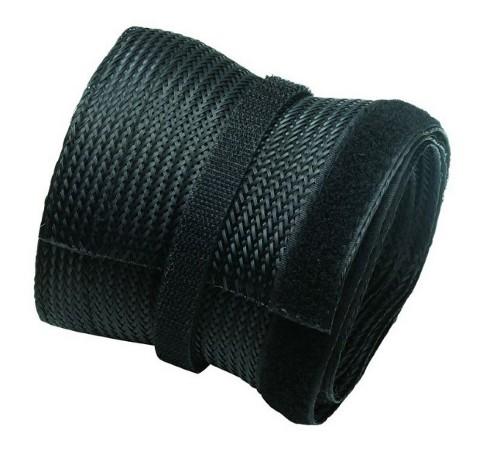 Newstar Flexible Cable Cover (Length: 200 cm, Width: 8.5 cm) - Black