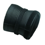Newstar Flexible Cable Cover (Length: 200 cm, Width: 8.5 cm) - Black