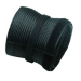 Newstar Flexible Cable Cover (Length: 200 cm, Width: 8.5 cm) - Black cable boot