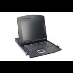 "Digitus DS-72210 rack console 43.2 cm (17"") 1280 x 1024 pixels Black 1U"