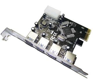 Dynamode USB-4PCI-3.0 interface cards/adapter USB 3.0 Internal