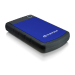 Transcend 1TB StoreJet 25H3 1000GB Black,Blue external hard drive