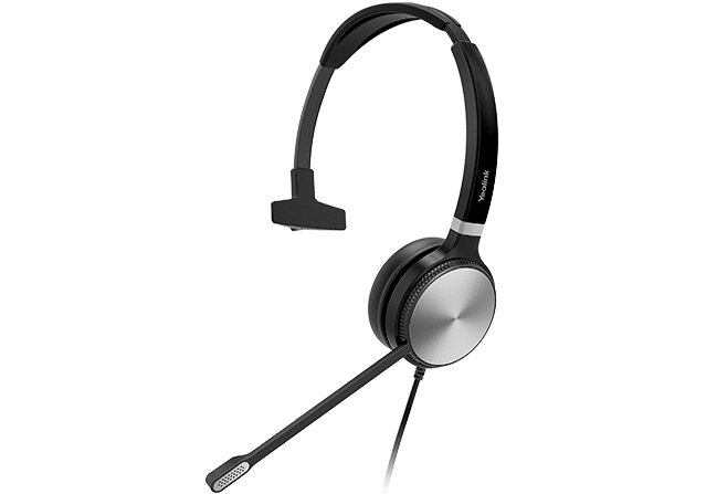 Yealink UH36 Mono Headset Head-band 3.5 mm connector USB Type-A Black, Silver