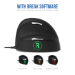 R-Go Tools R-Go HE Break Mouse, Ergonomic mouse, Anti-RSI software, Large (above 185mm), Right Handed, Wired