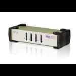 Aten 4-Port USB - PS/2 VGA KVM Switch (KVM Cables included)