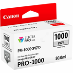 Canon 0553C001 (PFI-1000 PGY) Ink cartridge gray, 3.17K pages, 80ml