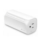 TP-LINK Smart Wi-Fi Plug Mini - Dual Outlets smart plug White 1800 W