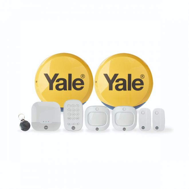 Yale IA-330 security alarm system White