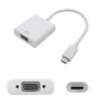 AddOn Networks USB 3.1 (C) - VGA, 0.2m USB graphics adapter White