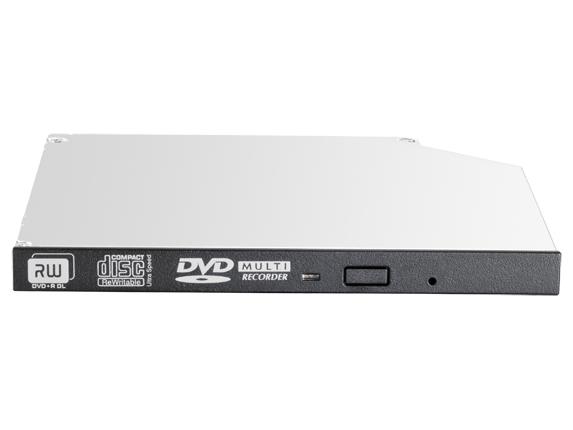 Hewlett Packard Enterprise 652241-B21 optical disc drive Internal Black DVD±RW