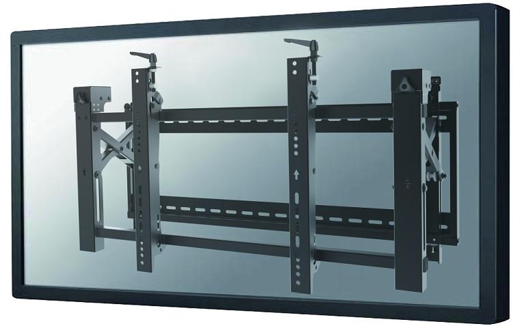 "Newstar LED-VW2000BLACK 75"" Black flat panel wall mount"
