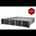 QNAP TS-1253U-RP/30TB-RED PRO 12 Bay NAS