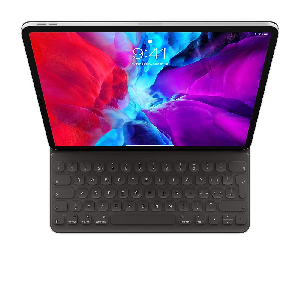 Apple MXNL2SM/A mobile device keyboard QWERTZ Swiss Black