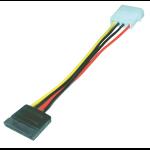 MCL Adapteur alimentation pour disque dur serial ATA cable de SATA