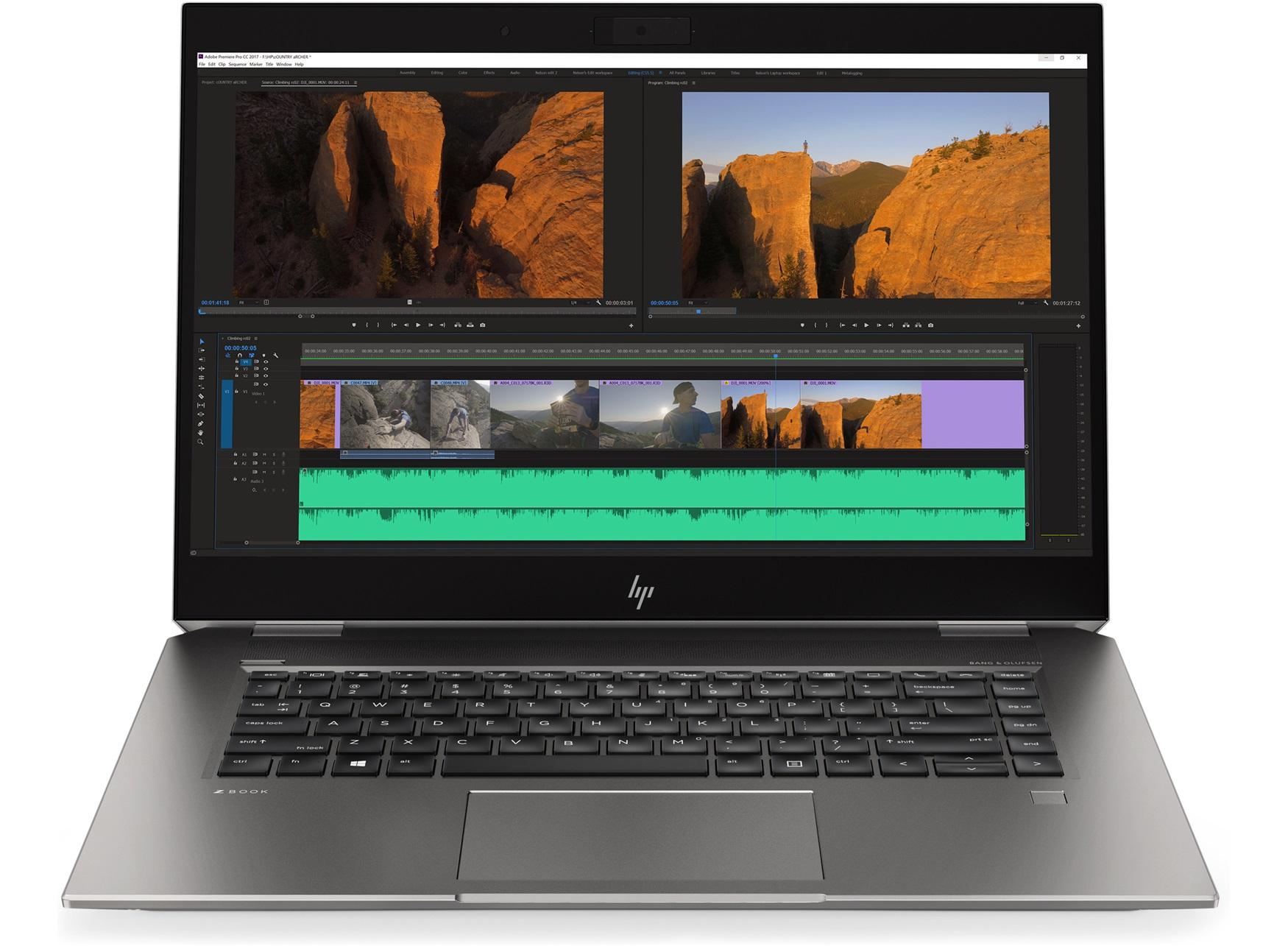 "HP ZBook Studio G5 Zilver Mobiel werkstation 39,6 cm (15.6"") 1920 x 1080 Pixels Intel® 9ste generatie Core™ i7 16 GB DDR4-SDRAM 512 GB SSD Windows 10 Pro"