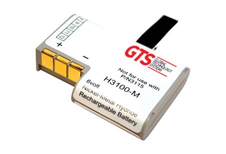 GTS H3100-M pieza de repuesto para ordenador de bolsillo tipo PDA Batería