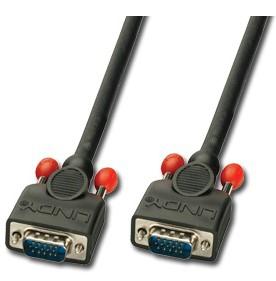 Lindy 31014 VGA cable 2 m VGA (D-Sub) Black