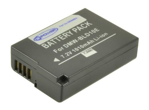 2-Power Digital Camera Battery 7.2V 950mAh