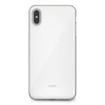 Moshi iGlaze mobile phone case Border Silver,White