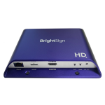 BrightSign HD224 digital media player Violet Full HD 1.0 channels 3840 x 2160 pixels