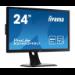 "iiyama ProLite B2483HSU-B1DP 24"" Black Full HD LED display"