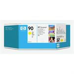 HP C5065A (90) Ink cartridge yellow, 750 pages, 400ml