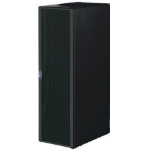 Rittal 47U 800x1000 Configured Server Rack With Side Panels - Black