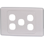 Altronics 5 Way Clipsal Clip-In Wallplate