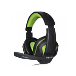 Approx APPGH7G Binaural Head-band Black,Green headset