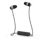 ifrogz Impulse Wireless Neckband Stereofonisch Draadloos Zwart, Zilver mobielehoofdtelefoon