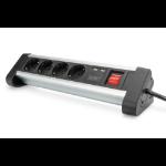 Digitus 4-way office socket strip with 2x USB ports