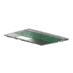 HP L25111-031 notebook spare part Housing base + keyboard