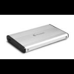 """Dynamode 2.5"""" External SATA Hard Disk Enclosure Silver 2.5"""" USB powered"""