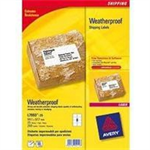Avery Weatherproof Shipping Labels White 100pc(s) self-adhesive label