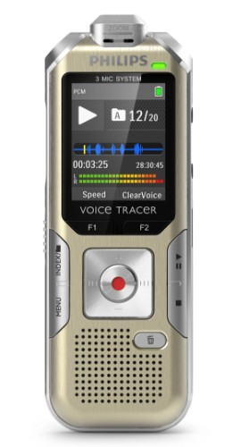 Philips Voice Tracer DVT6500 Flash card Silver