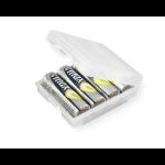 Ansmann 4000740 battery box Transparent,White