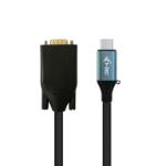 i-tec C31CBLVGA60HZ video kabel adapter 1,5 m USB Type-C VGA (D-Sub) Zwart, Blauw