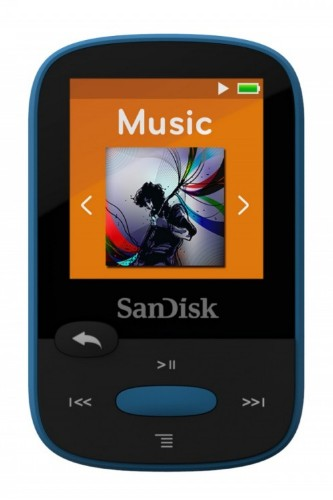 Sandisk Clip Sport 8GB MP3 8GB Black,Blue