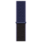 Apple MX3Q2ZM/A smartwatch accessory Band Black,Blue Nylon