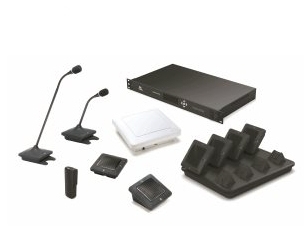Revolabs Executive Elite - 8 Channel Wireless Microphone System (includes: Base Unit Remote Antenna)