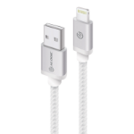 ALOGIC Prime Lightning to USB Charge & Sync Cable - 2m Silver (Apple Certified under MFi) - MOQ:3