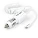 StarTech.com Cargador de Coche con Conector Lightning de Apple y Puerto USB 2.0 de Carga - Alto Poder 21 Watt / 4,2 A