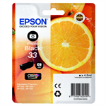 Epson C13T33414012 (33) Ink cartridge bright black, 200 pages, 5ml