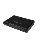 StarTech.com DS51002GB network switch Unmanaged Gigabit Ethernet (10/100/1000) Black