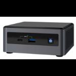 Intel NUC NUC10i7FNHN UCFF Black i7-10710U 1.1 GHz