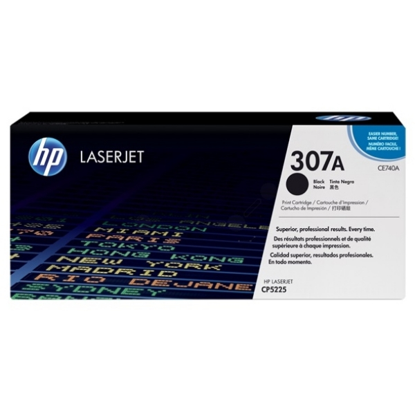 HP CE740A (307A) Toner black, 7K pages